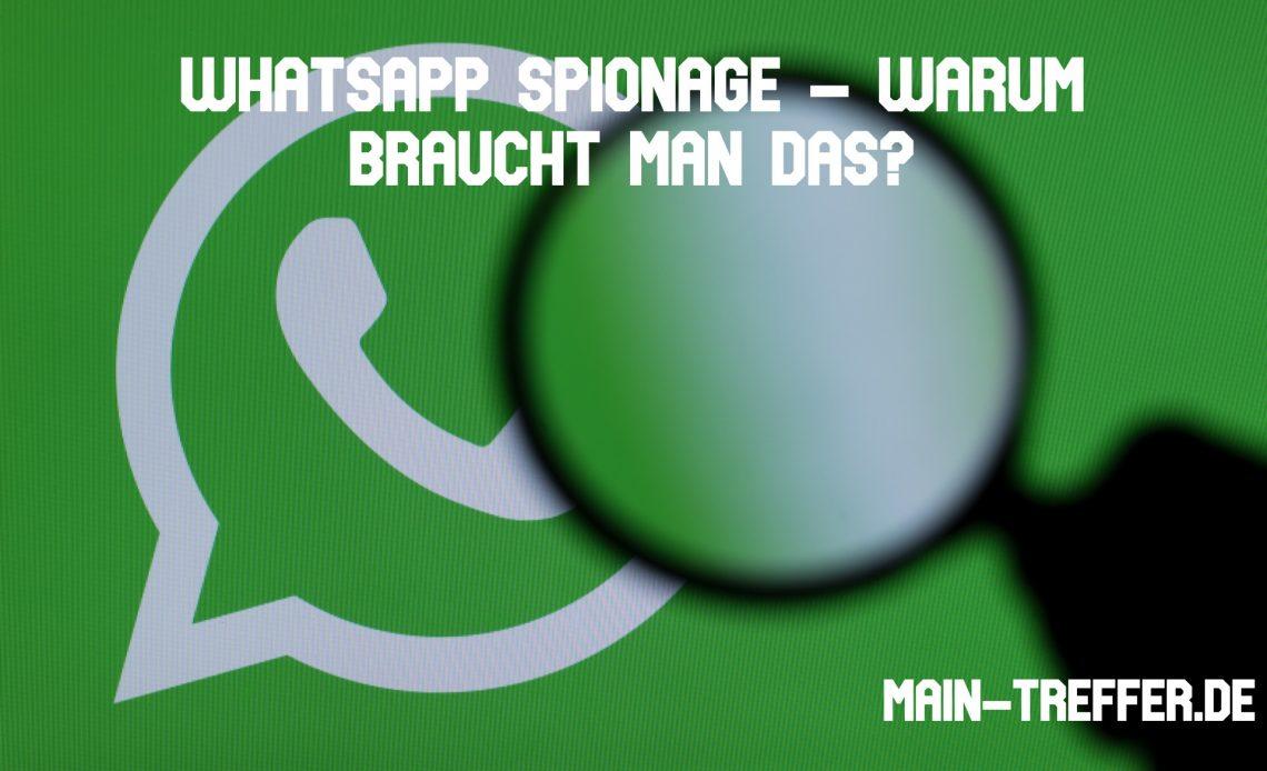 WhatsApp Spionage